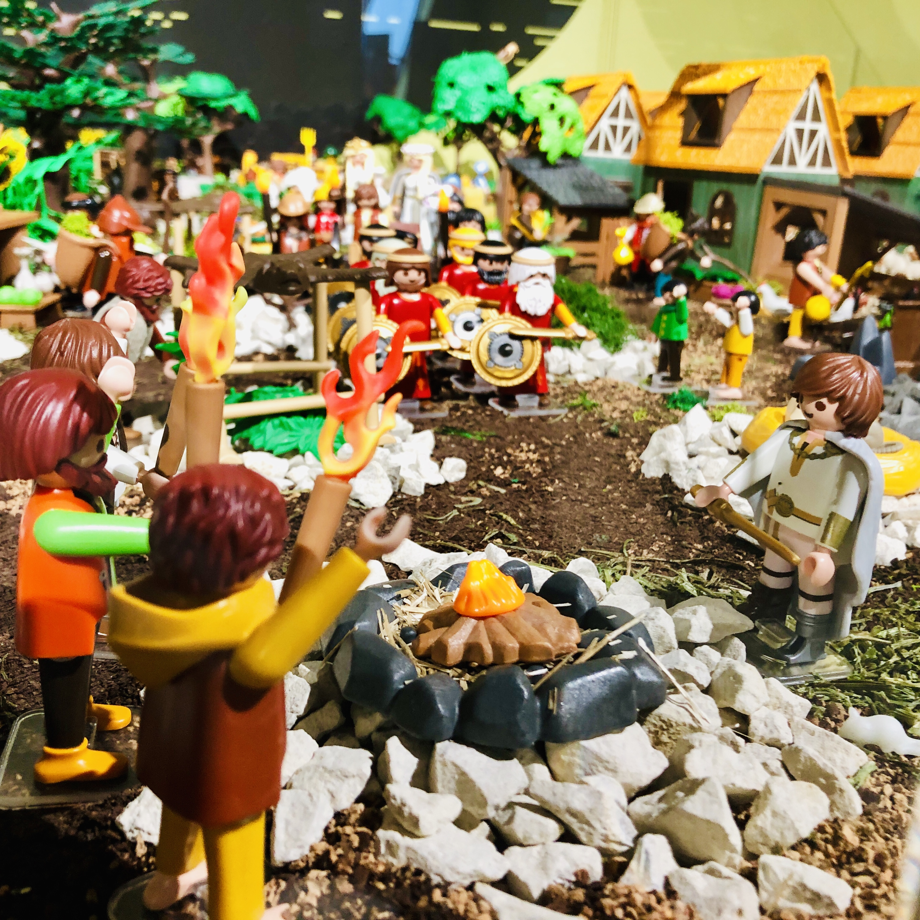 Playmobil Landschaft